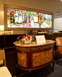 ステンドグラス「貴族の祝宴」